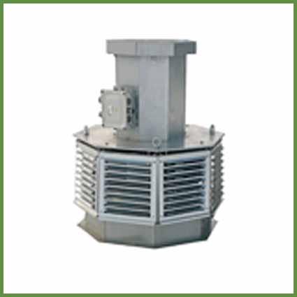 Вентиляторы крышные ВКРВ ДУ (выброс вверх)