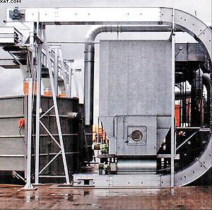 Цепной скребковый конвейер закрытого типа