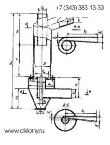 Циклоны ВЗП Циклоны ВЗП (золоуловитель батарейного типа